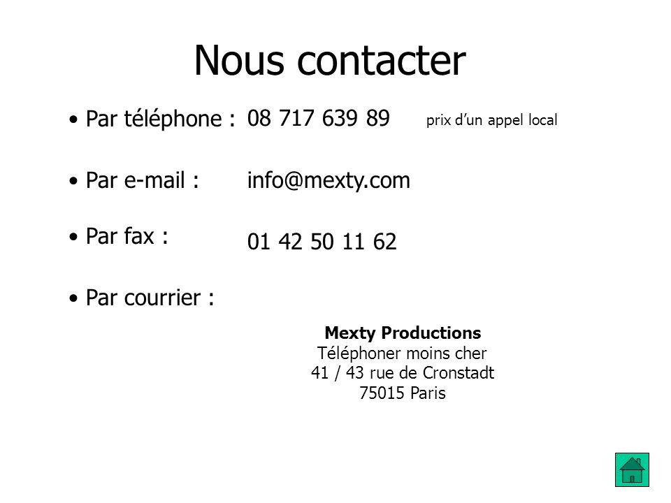 Pourquoi choisir Mexty Productions ? - Pour bénéficier des tarifs parmi les plus bas du marché… et qui le restent : - Nous personnalisons les conditio