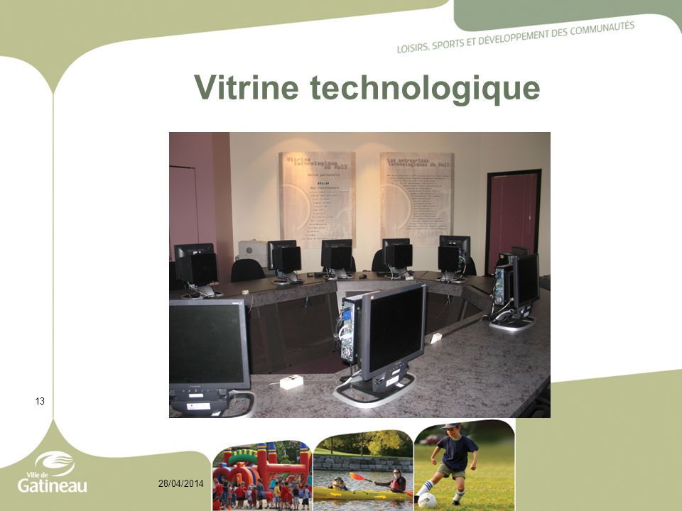 Vitrine technologique 13 28/04/2014