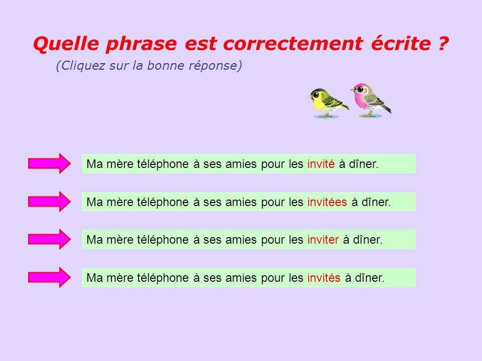 (Orthographe, vocabulaire, grammaire, conjugaisons,…) Etes-vous doué en français .