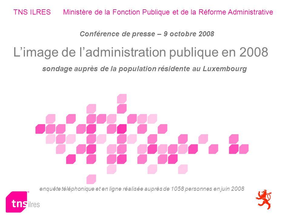 Enquête téléphonique et par internet auprès de 1058 personnes en mai - juin 2008 06-08-130 RefAd Ministère de la Fonction Publique et de la Réforme Administrative 32 Modes de contact: