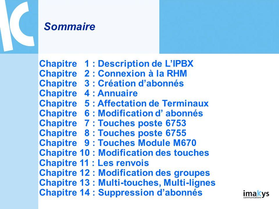 Suppression Afin de supprimer un abonné, aller dans « ABONNES > Abonnements > Suppression » : Une fois « Confirmation » de cliquer labonné est supprimé de lIPBX.