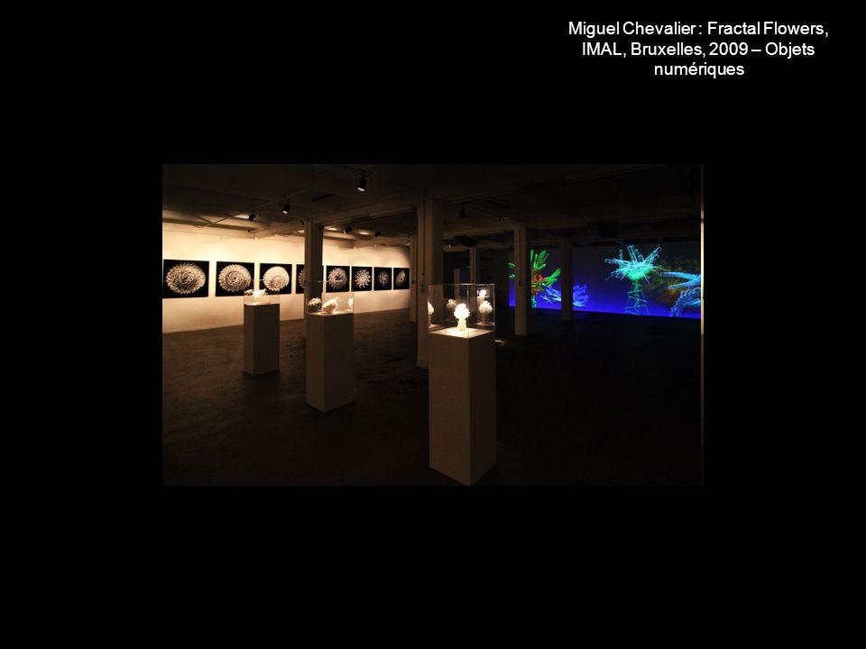 Miguel Chevalier : sculpture en stéréolithographie