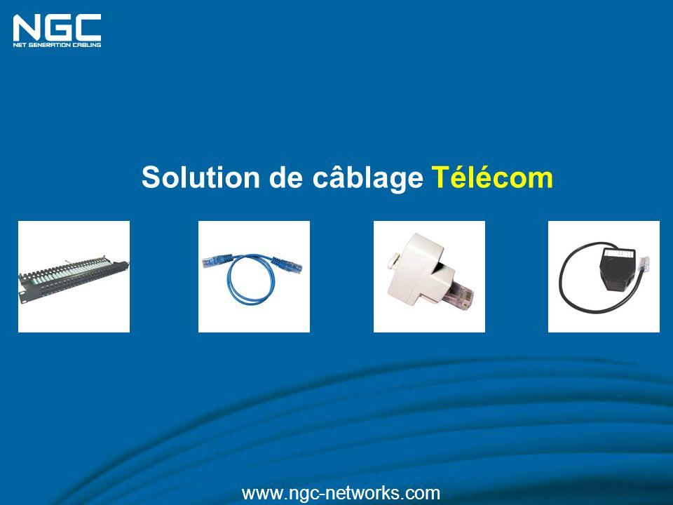 Solution de câblage Télécom www.ngc-networks.com