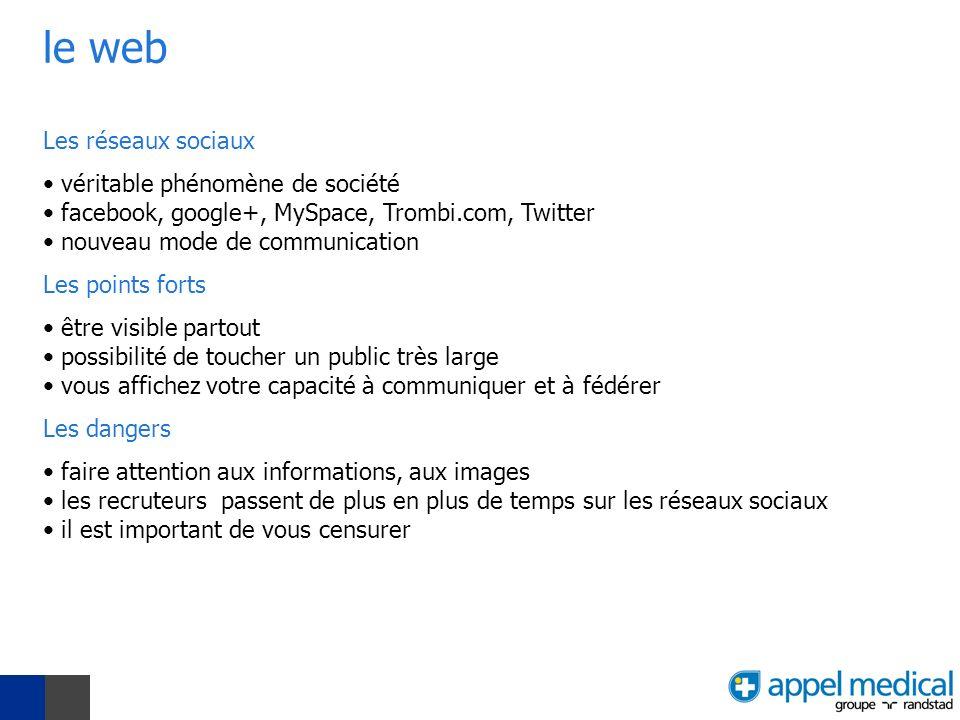 le web Les réseaux sociaux véritable phénomène de société facebook, google+, MySpace, Trombi.com, Twitter nouveau mode de communication Les points for