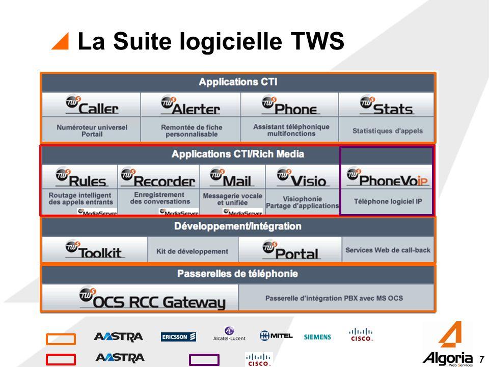 7 La Suite logicielle TWS