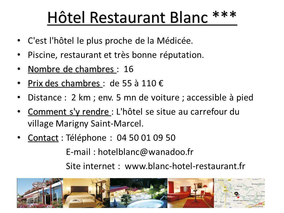 Alb Hôtel ** A 5 km soit 10 mn en voiture de la Médicée.