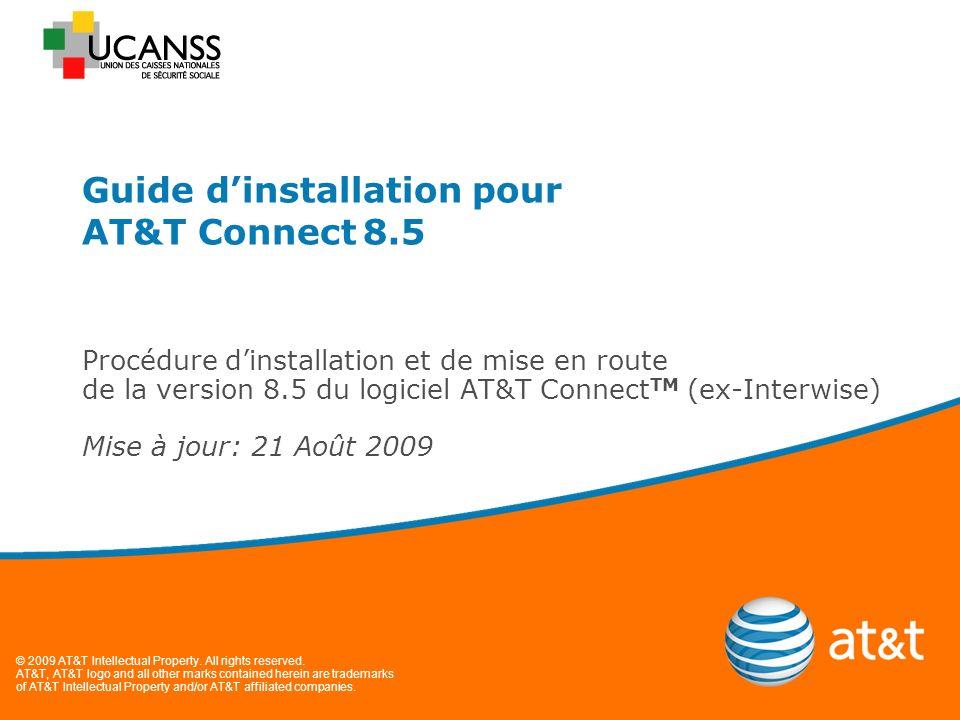 Guide dinstallation pour AT&T Connect 8.5 Page 12 Si vous êtes invités à participer à une réunion, entrez le numéro de salle de réunion ou d évènement que lorganisateur vous aura communiqué dans la zone « Type meeting/event ID puis cliquez sur « Rejoindre cette réunion ».