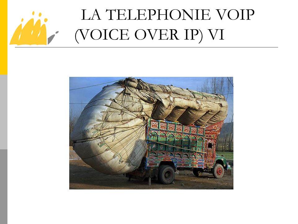LA TELEPHONIE VOIP (VOICE OVER IP) VI