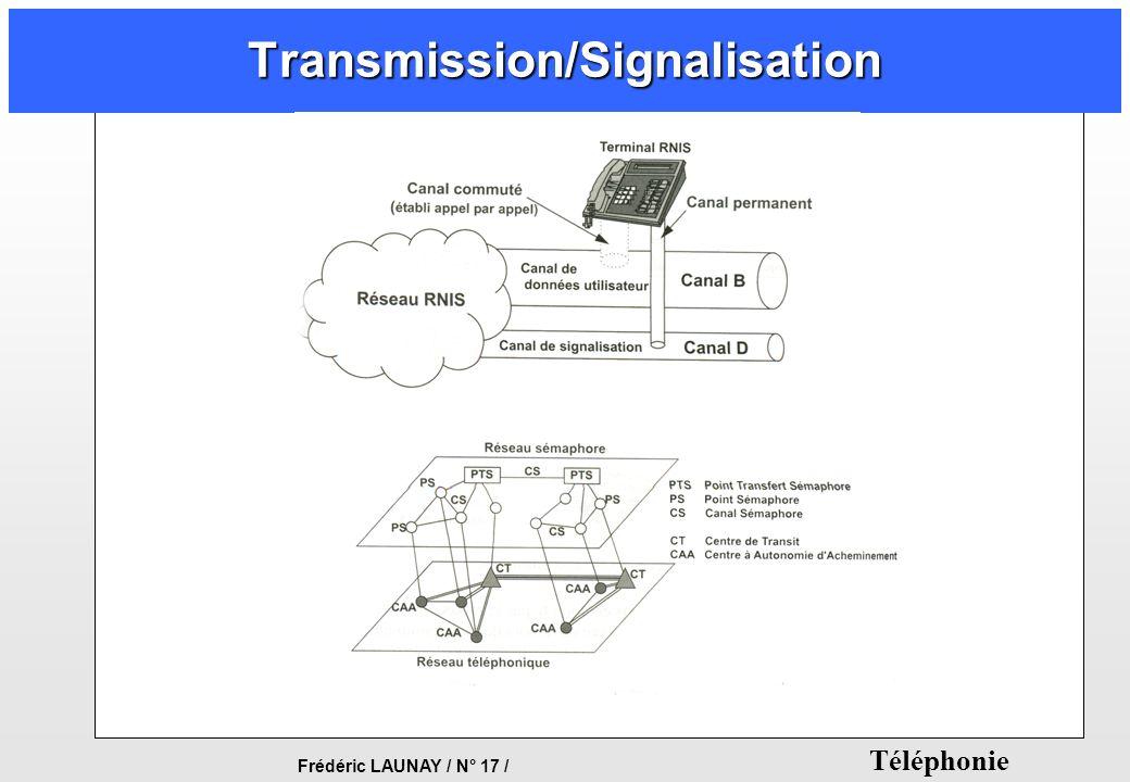 Frédéric LAUNAY / N° 17 / Téléphonie Transmission/Signalisation