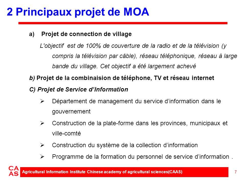 a)Projet de connection de village L objectif est de 100% de couverture de la radio et de la télévision (y compris la télévision par câble), réseau téléphonique, réseau à large bande du village.