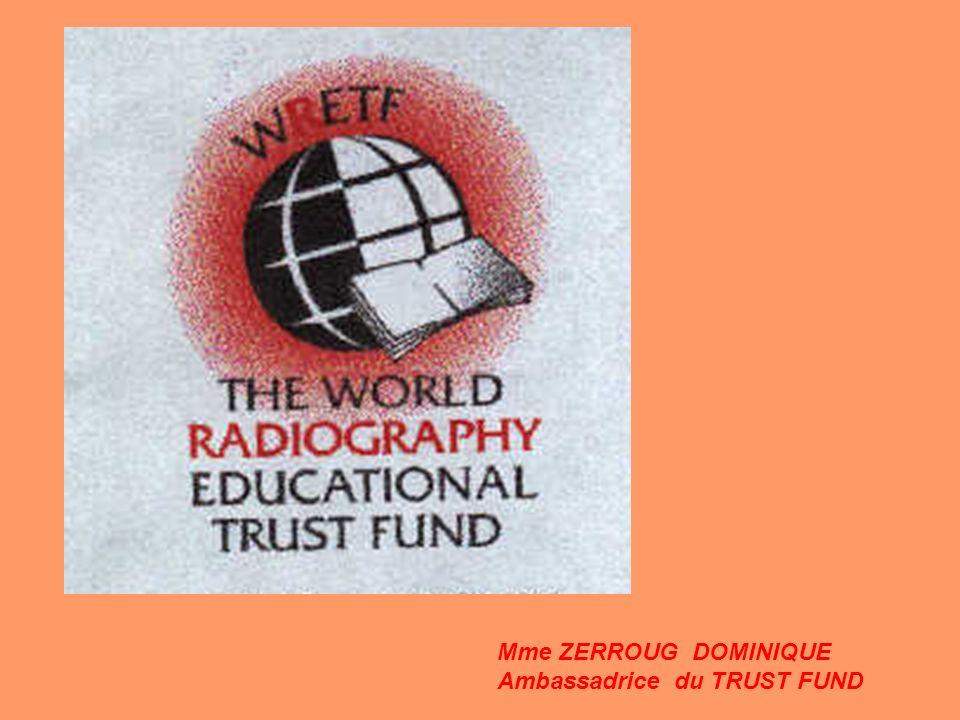 La Society of Radiographers a fait une donation de £1000 au Trust Fund LAFPPE a fait des dons de livres en français Jonathan Mazal des US a fait un raid pour récolter de largent Exemples dactions