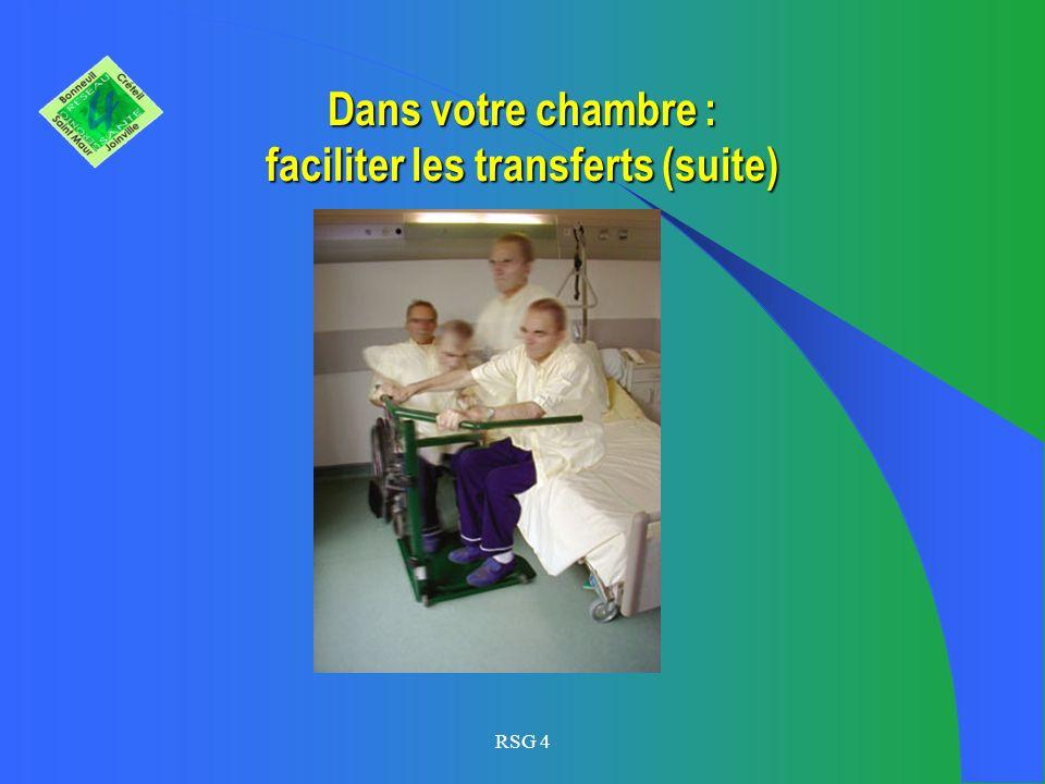 Dans votre chambre ou celle de votre proche : faciliter les transferts