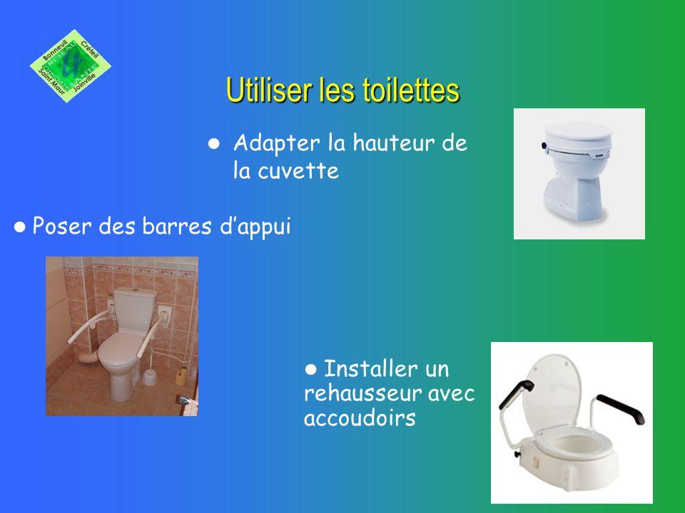 RSG 4 Dans votre salle de bains Pour votre douche : Un siège de douche avec accoudoirs, Des barres dappui, Un tapis ou carrelage anti- dérapant,