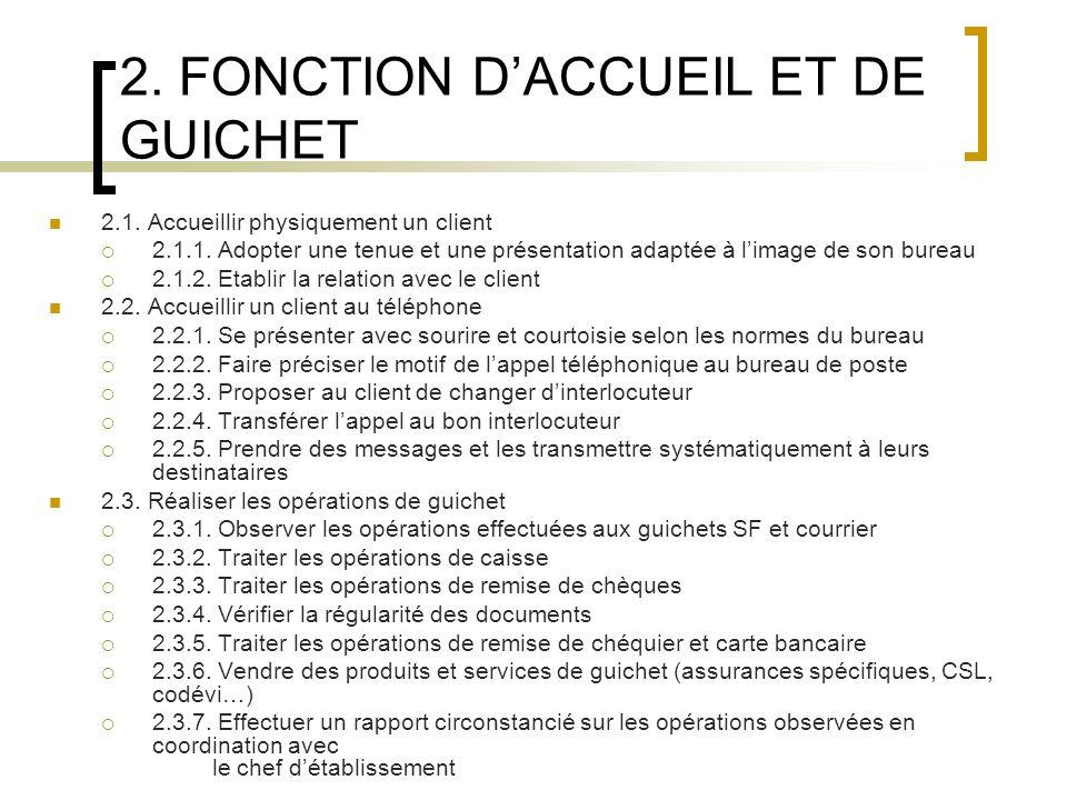 3.FONCTION COMMERCIALE 3.1. Préparer et réaliser des actions commerciales 3.1.1.