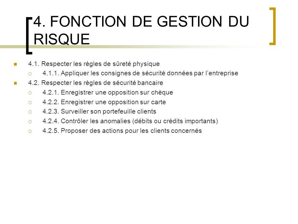 5.FONCTION DINFORMATION ET DE COMMUNICATION 5.1. Traiter linformation et la communiquer 5.1.1.