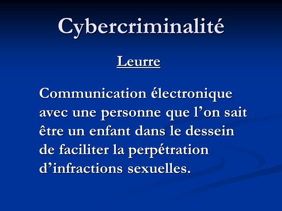 Cybercriminalité Extorsion Sans justification, obliger quelqu un à poser un geste contre son gr é en é change de quelque chose, par la menace ou la vi