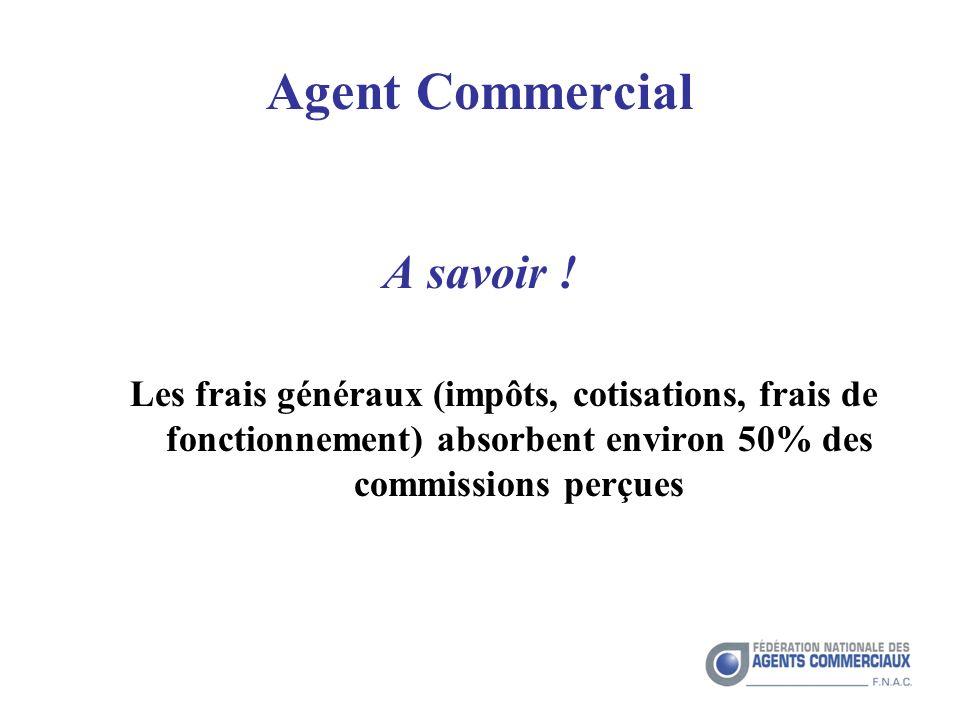 Agent Commercial A savoir .