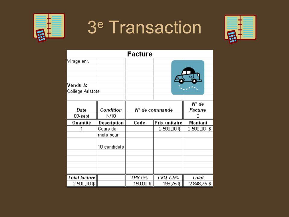 3 e Transaction