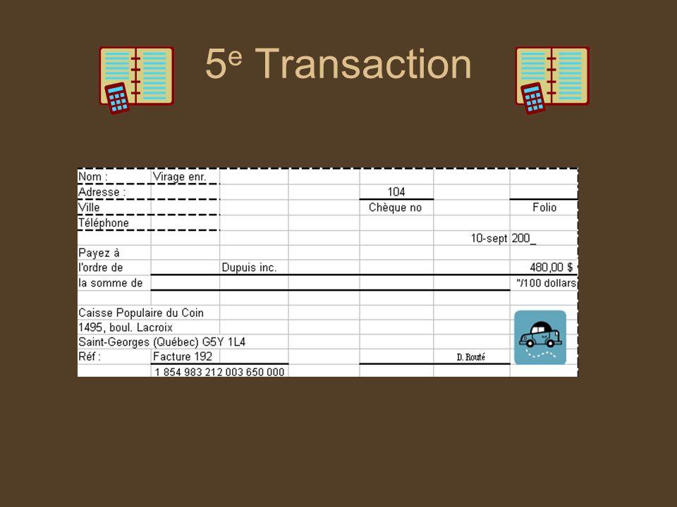 5 e Transaction