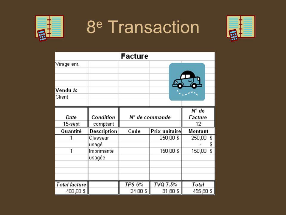 8 e Transaction