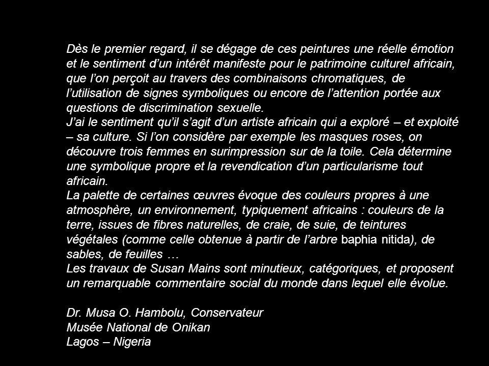 At The Museum of Modern Art In Santo Domingo, IV Caribbean Bienal, 2001 Au Musée dArt Moderne de Saint-Domingue, 4ème Biennale Caribéenne, 2001