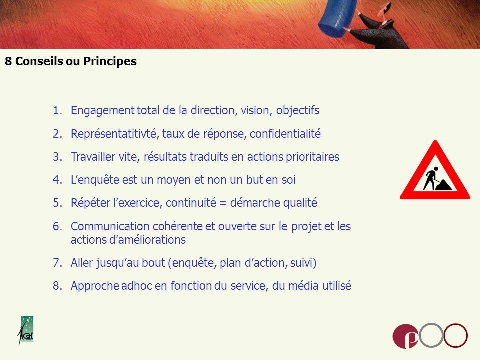 Connaissance de lorganisation, des processus, des clients.