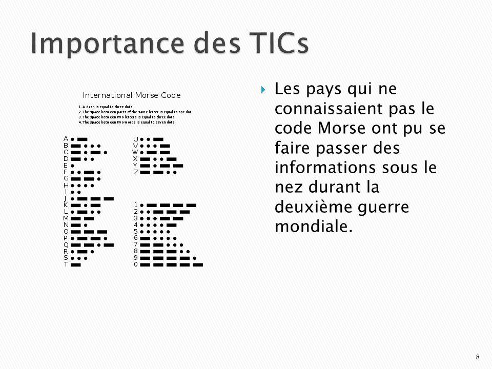 Les pays qui ne connaissaient pas le code Morse ont pu se faire passer des informations sous le nez durant la deuxième guerre mondiale.
