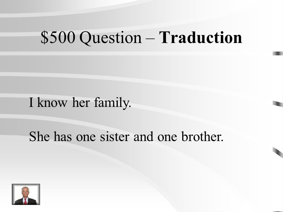 $400 Réponse – Traduction Je vais lui donner un CD pour son anniversaire.