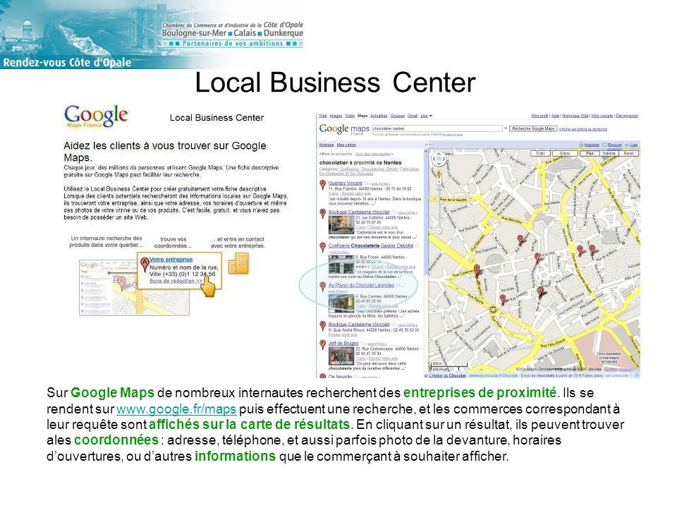 Sur Google Maps de nombreux internautes recherchent des entreprises de proximité.