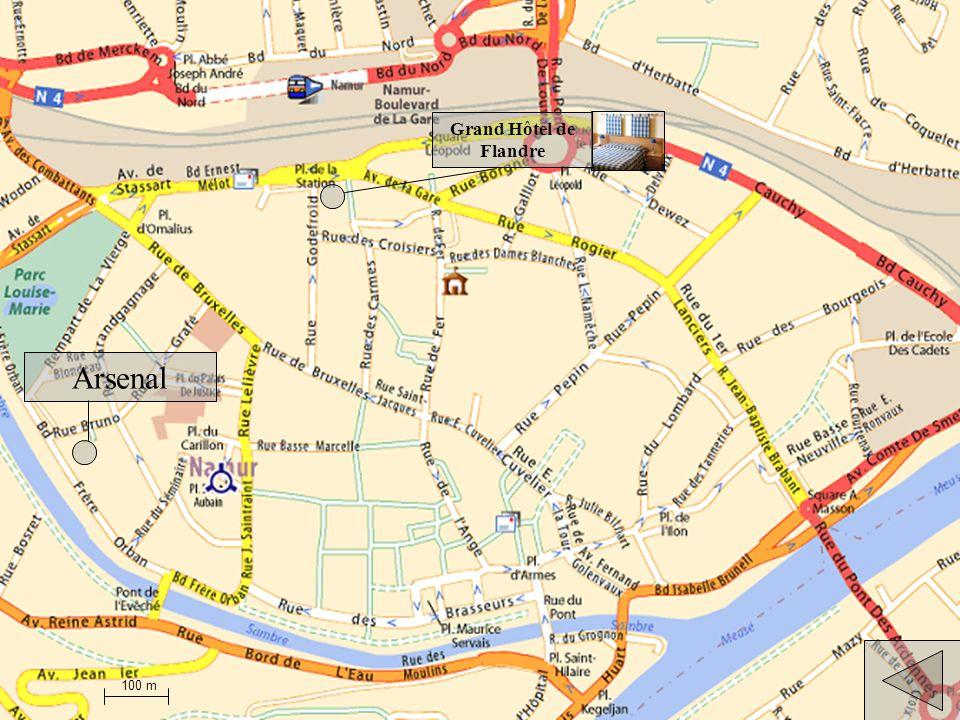 Arsenal Ibis Hôtels Namur Centre 100 m