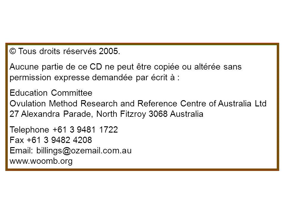 © Tous droits réservés 2005.