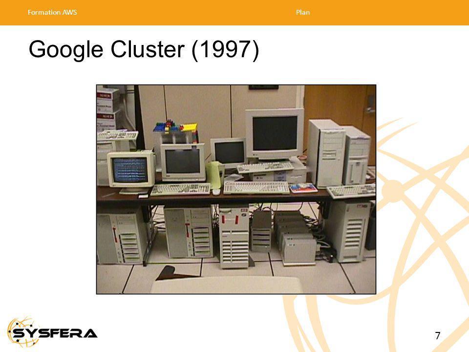 Google Cluster (1997) Formation AWSPlan 7