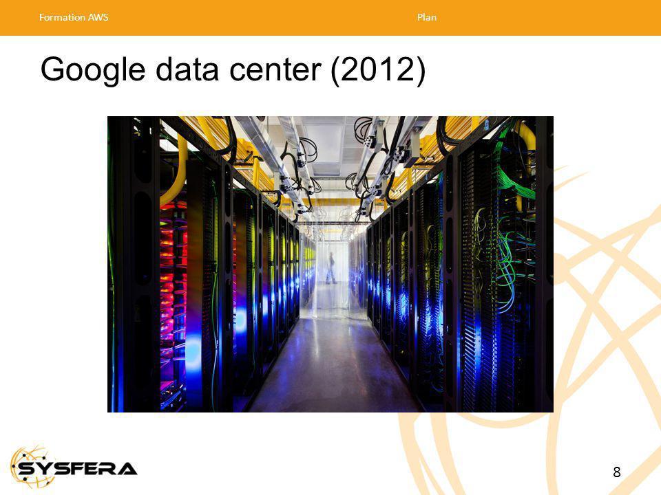 Google data center (2012) Formation AWSPlan 8