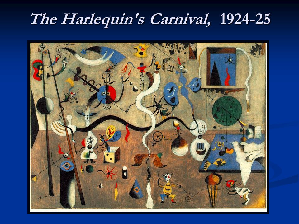 The Harlequin's Carnival, 1924-25
