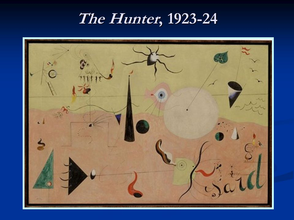 The Hunter, 1923-24
