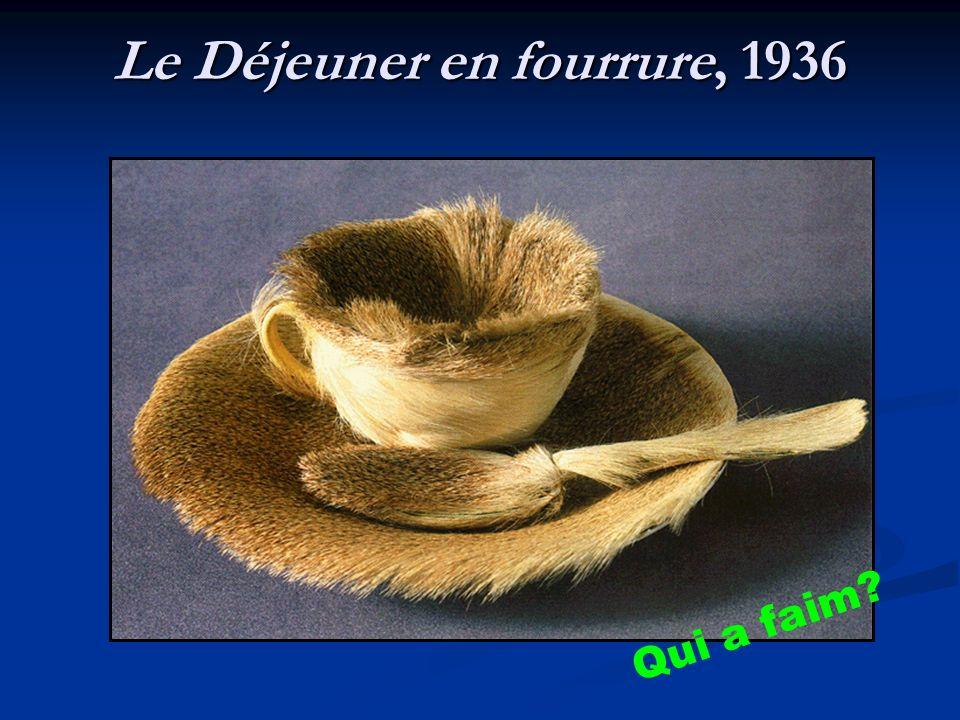 Le Déjeuner en fourrure, 1936 Qui a faim?