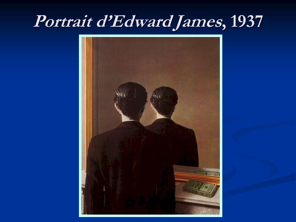 Portrait dEdward James, 1937