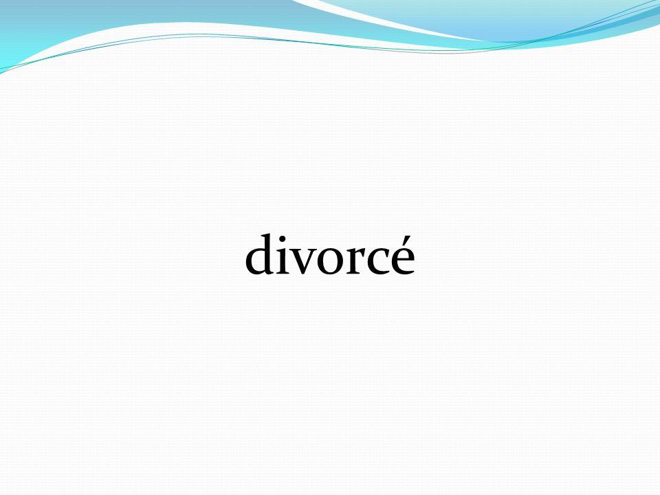 divorcé