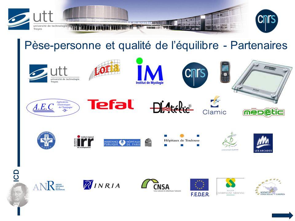 ICD Pèse-personne et qualité de léquilibre - Partenaires