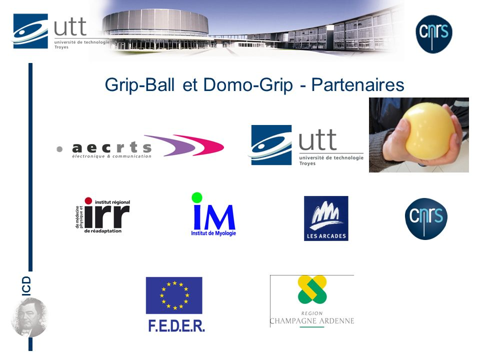 ICD Grip-Ball et Domo-Grip - Partenaires