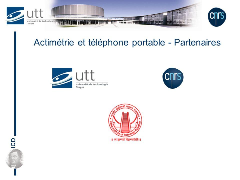 ICD Actimétrie et téléphone portable - Partenaires