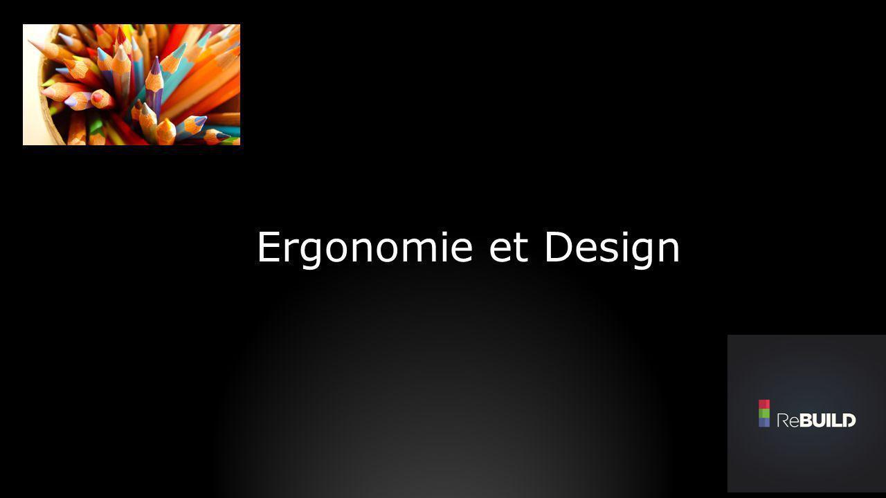 Ergonomie et Design