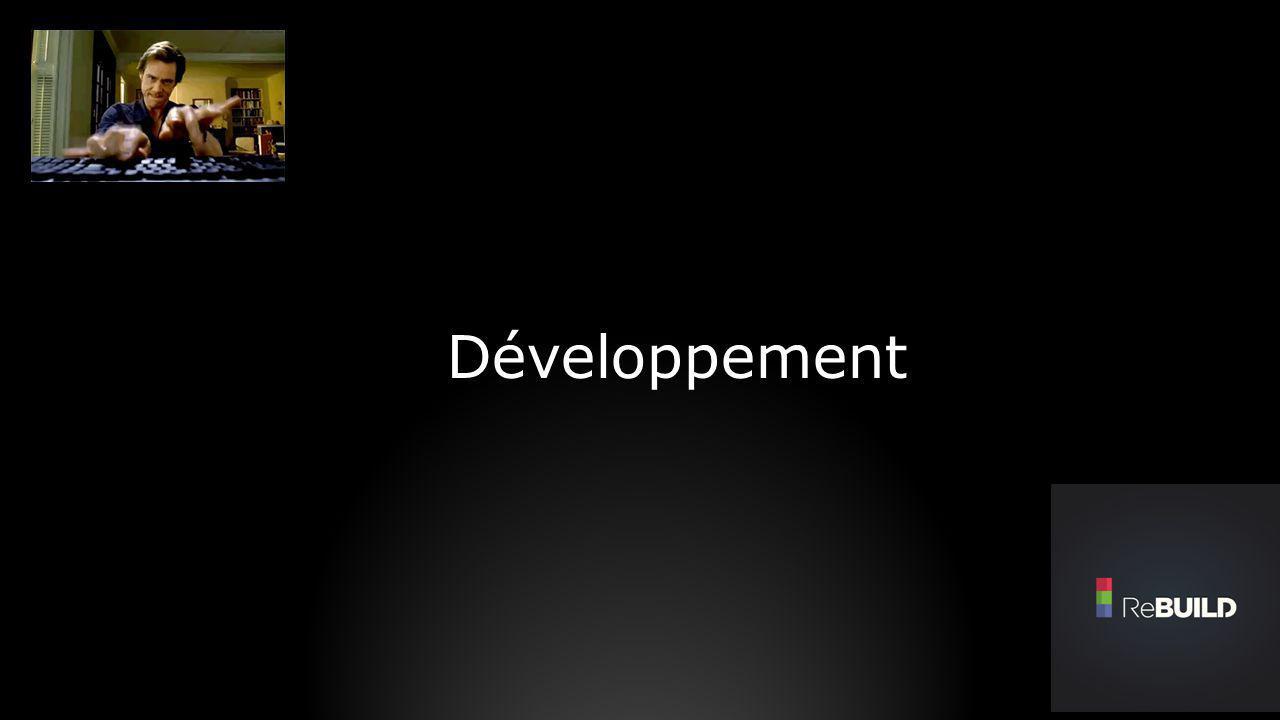Concerne 3 types de développeurs : Le développeur.NET : C# / XAML Le développeur Web : HTML5 (par WebBrowser) Le développeur Jeux :C++