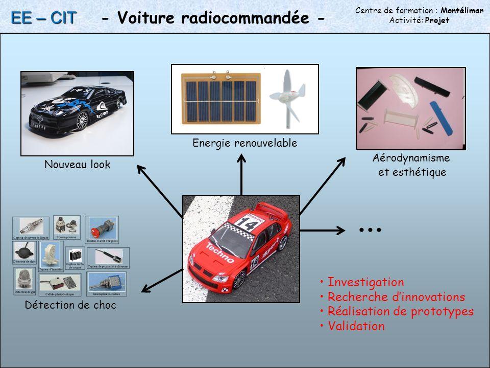 Centre de formation : Montélimar Activité: Projet - Voiture radiocommandée -...