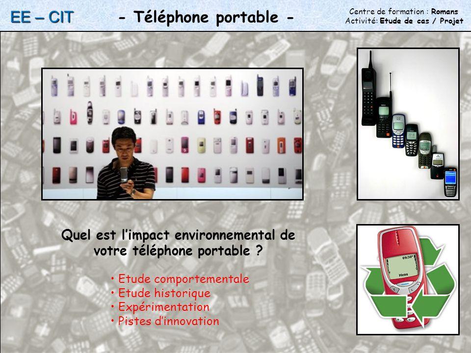 Quel est limpact environnemental de votre téléphone portable .