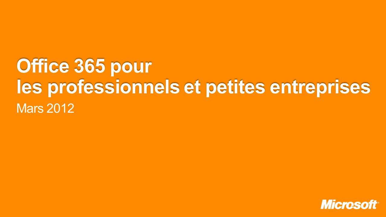 Office 365 pour les professionnels et petites entreprises