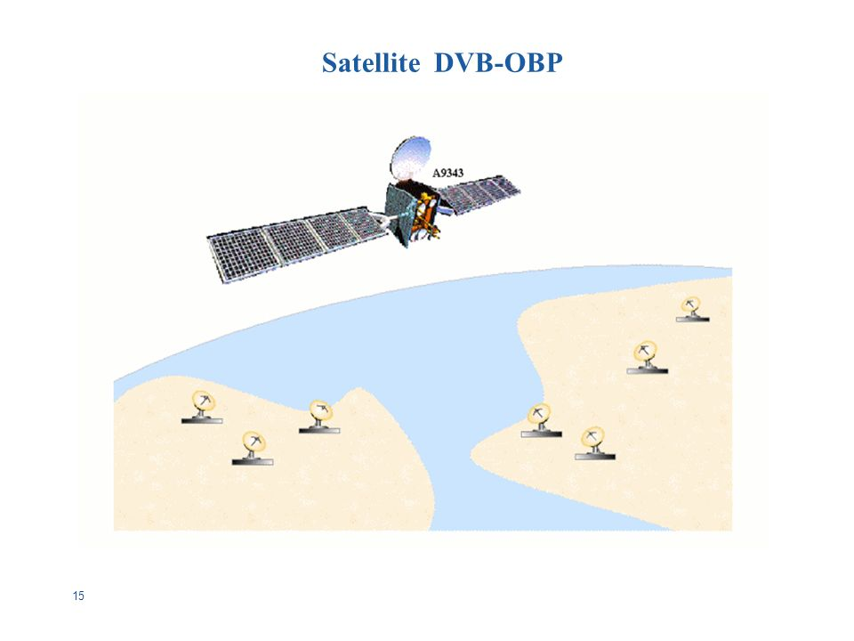15 Satellite DVB-OBP
