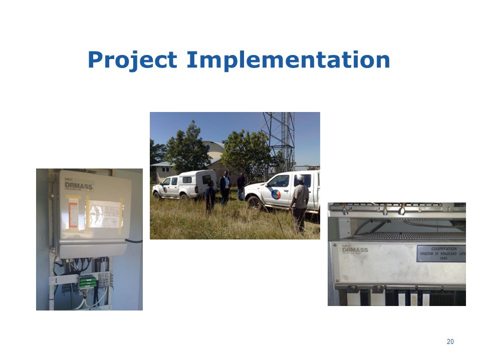20 Project Implementation