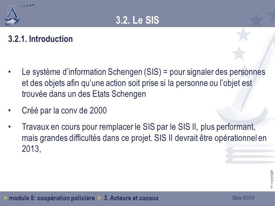 Slide 40/64 © copyright 3.2.1.