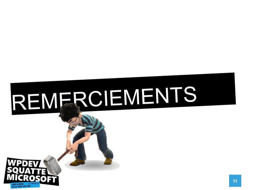 REMERCIEMENTS 11